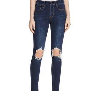 721 High Rise Skinny Jeans in Rough Day